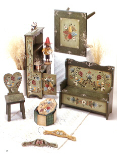 Doll furniture (not miniature)