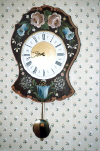 Scalloped Wall Clock